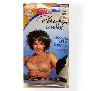 🖤 Playtex Women's Bra Black (38DD)